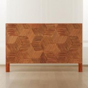 Roquette Rattan Headboard King by CB2