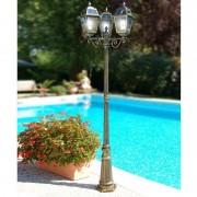 LIBERTI LAMP linea GARDEN Artemide Palo Lampione Lanterna Classica Illuminazione Esterno Giardino