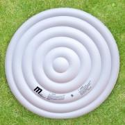 Thermoabdeckung für Whirlpool MSpa HWC-A62, Schutzabdeckung Abdeckung, aufblasbar isolierend rund Ø 160cm ~ Variantenangebot