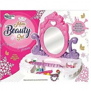 Oh Baby branded Bring Along Beauty Suitcase Makeup Vanity Set Toy for Kids - 21 Pieces FOR YOUR KIDS SE-ET-343