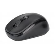 Mouse Bluetooth v4.0 Wireless 2.4GHz Dual-Mode 1600 dpi Nero
