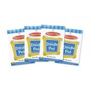 Melissa & Doug Doodle Paper Pad Bundle (4 Pack)
