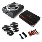 """Electronic-Star 4.1 HiFi комплект за кола """"Black Line 560"""" усилвател, високоговорител, събуфер (PL-4.1-BL-560)"""