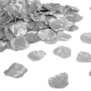 Confezione 288 petali in tessuto color argento