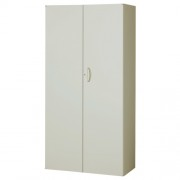 両開き書庫 ニューグレー W900×D450×H1800mm システム収納庫 オフィス収納 キャビネット オフィス家具