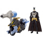 Action Play Batman Knight Missions Air Power Blast Attack Batman and Bat Cycle Figure and Vehicle