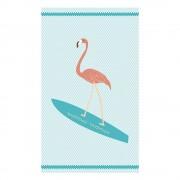 Surf Flamingo strand fürdőlepedő