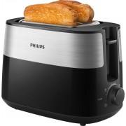 Philips Toaster HD2516/90, 2 kurze Schlitze, 830 W