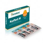 Himalaya Herbals Pastilhas para dor de garganta Koflet-H Himalaia laranja 12(2x6)