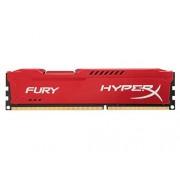 HyperX Fury HX318C10FR/8 Mémoire RAM 8Go 1866MHz DDR3 CL10 DIMM Rouge