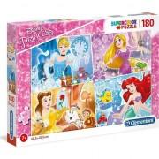 Puzzle Clementoni SuperColor Disney Princess, 180 piese