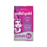 Solid Gold Mighty Mini Lamb, Sweet Potato & Cranberry Toy & Small Breed Recipe Grain-Free Dry Dog Food, 11-lb bag