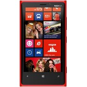 Microsoft Nokia Lumia 920 Smartphone (11,4 cm (4,5 Zoll) WXGA HD IPS LCD Touchscreen, 8 Megapixel Kamera, 1,5 GHz Dual-Core-Prozessor, NFC, LTE-fähig, Windows Phone 8) gloss red