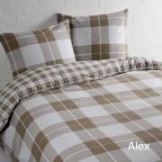 Day Dream Dekbedovertrek Alex Beige-140x200/220