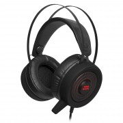MARS GAMING Auscultadores multiplataforma MARS GAMING+Mic RGB Flow 50mm Neodymium 7.1 Surround PC/PS4 USB -MH318