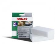 Sonax GmbH SONAX SchmutzRadierer, Entfernt hartnäckige Verschmutzungen, 1 Packung = 2 Stück