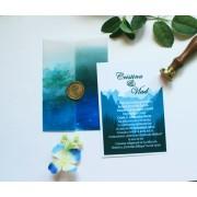Invitatie nunta cu sigiliu OPIS057