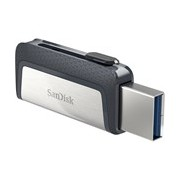 SanDisk Ultra Dual 256 GB USB 3.1 Type C, USB 3.1 Type A Flash Drive