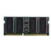 Kingston - SDRAM - 128 Mo - SO DIMM 144 broches - 133 MHz / PC133 - 3.3 V - mémoire sans tampon - non ECC - pour ASUS M2000, S1000; Brother HL-2700, 4000, 4200; OKI C5300, 5400; Samsung V25;...