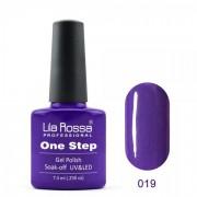 Oja semipermanenta OneStep Lila Rossa Professional 7.3ml OLROS019