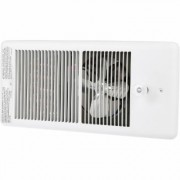 TPI In-Wall Vent Heater - 5,120 BTU, 1,500 Watts, Ivory, Model E4315TRP