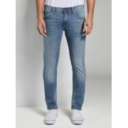 TOM TAILOR DENIM Piers super slim jeans, Heren, mid stone bright blue denim, 36/32