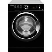 Masina de spalat rufe Hotpoint Ariston NLCD 946 BS A EU, 9 kg, 1400 RPM, Clasa A+++, Active care, Steam Hygiene, Negru