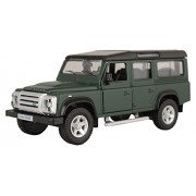 Rmz City Die Cast Land Rover Defender, Matte Dark Green (5-inch)