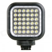 GODOX portatil 260lm 6500K 36 LED de luz de video - Negro (2 * AA)