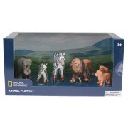 Set 6 figurine Animale din Jungla National Geographic, 3 ani+