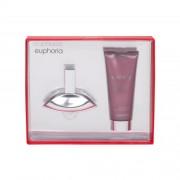 Calvin Klein Euphoria подаръчен комплект EDP 30 ml + лосион за тяло 100 ml за жени