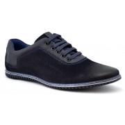 Pantofi Casual Barbatesti Bleumarin WD2