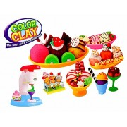 Zest 4 Toyz DIY Ice Cream Clay Play Set Toy (Multi)