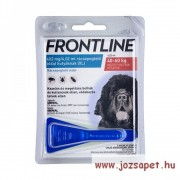 Frontline Spot On XL kullancs, bolha ellen közepes (40kg feletti) kutya számára
