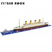 Titanic Blocks Diamond Building Blocks DIY Assemblage Model Mini Bricks Romantic Present Gift for Friend and Family