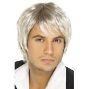 Boy Band Brown & Blonde Wig