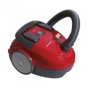 Aspirator cu sac Albatros SMART 85 ECO RED, 850 W, 1.8 L, Accesoriu locuri înguste (2 în 1), Perie pentru covoare şi podele, Rosu