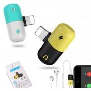 Konnektor redukció, zenehallgatáshoz és töltéshez Iphone
