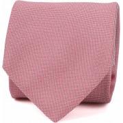 Profuomo Krawatte Seide Rot - Rot