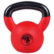 Gorilla Sports Kettlebell 16 kg - Gietijzer met Rubber Coating - Gorilla Sports