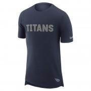 Tee-shirt Nike Enzyme Droptail (NFL Titans) pour Homme - Bleu