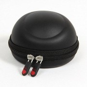Hermitshell EVA bolsa de funda para funda de transporte protectora de viaje para 3dconnexion SpaceNavigator 3d mouse 3DX-700028 3dx-70034 3dx-70043, Negro