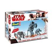 Star Wars First Order Heavy Assault Walker Model Kit Ages 6+ Lights and Sounds