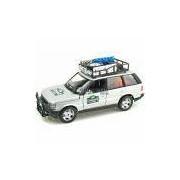 Miniatura Range Rover Safari Bburago Prata 1/24