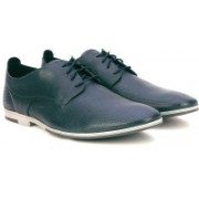 Clarks Otoro Walk Navy Leather Lace Up For Men(Navy)