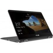 """Laptop 2in1 ASUS ZenBook Flip UX461FA-E1040T (Procesor Intel® Core™ i7-8565U (8M Cache, up to 4.60 GHz), Whiskey Lake, 14"""" FHD, Touch, 8GB, 256GB SSD, Intel® UHD Graphics 620, FPR, Win10 Home, Gri)"""