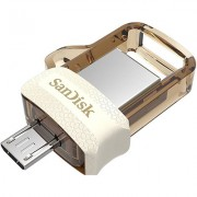 SanDisk 32GB ULTRA DUAL DRIVE 3.0 OTG PEN DRIVE (Gold) (Pack of 5)
