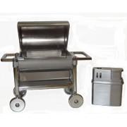 Grill kocsi Dobozos asztali szett Vihargyújtó öngyújtó