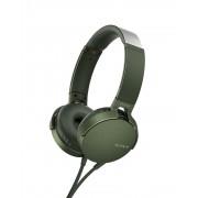 HEADPHONES, SONY MDR-550AP, Green (MDRXB550APG.CE7)