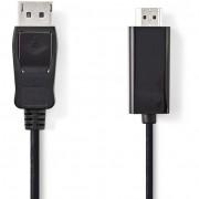 Nedis CCGP37100BK30 DisplayPort - HDMI kábel 3 m - fekete